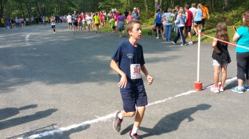 Chris and Kevin Truskey 5K, 10K, Run, Walk, Tuscarora State Park, Barnesville, 8-29-2015 (328)