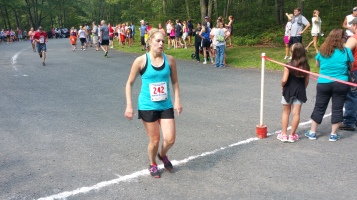 Chris and Kevin Truskey 5K, 10K, Run, Walk, Tuscarora State Park, Barnesville, 8-29-2015 (338)