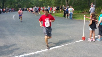 Chris and Kevin Truskey 5K, 10K, Run, Walk, Tuscarora State Park, Barnesville, 8-29-2015 (339)