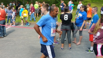Chris and Kevin Truskey 5K, 10K, Run, Walk, Tuscarora State Park, Barnesville, 8-29-2015 (344)
