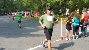 Chris and Kevin Truskey 5K, 10K, Run, Walk, Tuscarora State Park, Barnesville, 8-29-2015 (345)