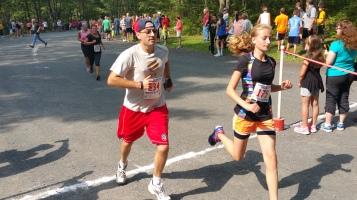 Chris and Kevin Truskey 5K, 10K, Run, Walk, Tuscarora State Park, Barnesville, 8-29-2015 (350)