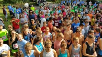 Chris and Kevin Truskey 5K, 10K, Run, Walk, Tuscarora State Park, Barnesville, 8-29-2015 (40)