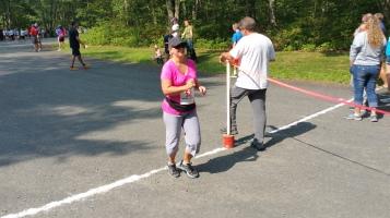 Chris and Kevin Truskey 5K, 10K, Run, Walk, Tuscarora State Park, Barnesville, 8-29-2015 (402)
