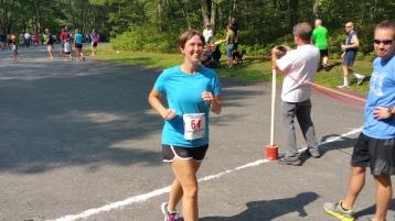 Chris and Kevin Truskey 5K, 10K, Run, Walk, Tuscarora State Park, Barnesville, 8-29-2015 (405)