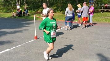 Chris and Kevin Truskey 5K, 10K, Run, Walk, Tuscarora State Park, Barnesville, 8-29-2015 (406)