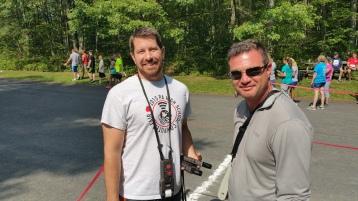 Chris and Kevin Truskey 5K, 10K, Run, Walk, Tuscarora State Park, Barnesville, 8-29-2015 (407)