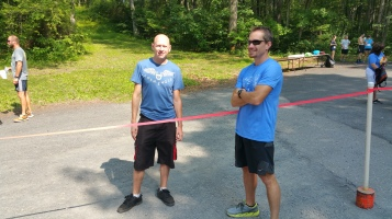 Chris and Kevin Truskey 5K, 10K, Run, Walk, Tuscarora State Park, Barnesville, 8-29-2015 (408)