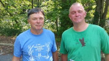 Chris and Kevin Truskey 5K, 10K, Run, Walk, Tuscarora State Park, Barnesville, 8-29-2015 (412)