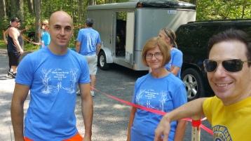Chris and Kevin Truskey 5K, 10K, Run, Walk, Tuscarora State Park, Barnesville, 8-29-2015 (413)
