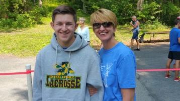 Chris and Kevin Truskey 5K, 10K, Run, Walk, Tuscarora State Park, Barnesville, 8-29-2015 (419)