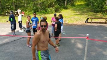 Chris and Kevin Truskey 5K, 10K, Run, Walk, Tuscarora State Park, Barnesville, 8-29-2015 (434)