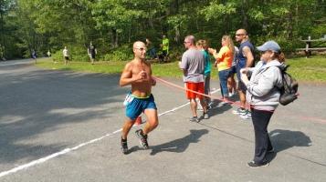Chris and Kevin Truskey 5K, 10K, Run, Walk, Tuscarora State Park, Barnesville, 8-29-2015 (435)