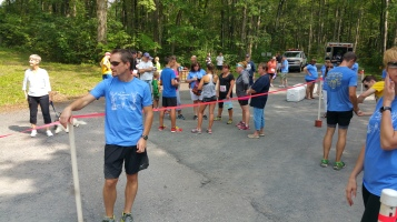 Chris and Kevin Truskey 5K, 10K, Run, Walk, Tuscarora State Park, Barnesville, 8-29-2015 (439)