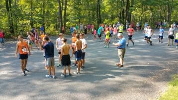 Chris and Kevin Truskey 5K, 10K, Run, Walk, Tuscarora State Park, Barnesville, 8-29-2015 (5)