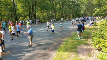 Chris and Kevin Truskey 5K, 10K, Run, Walk, Tuscarora State Park, Barnesville, 8-29-2015 (6)