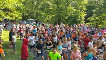 Chris and Kevin Truskey 5K, 10K, Run, Walk, Tuscarora State Park, Barnesville, 8-29-2015 (63)