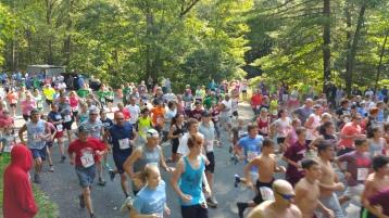 Chris and Kevin Truskey 5K, 10K, Run, Walk, Tuscarora State Park, Barnesville, 8-29-2015 (65)