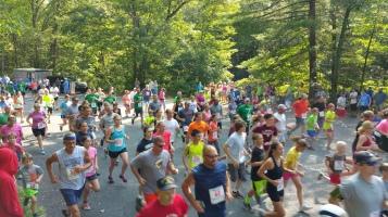 Chris and Kevin Truskey 5K, 10K, Run, Walk, Tuscarora State Park, Barnesville, 8-29-2015 (66)