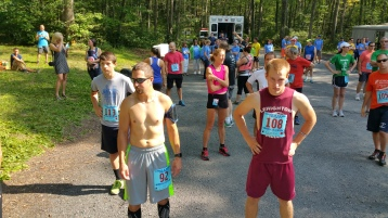 Chris and Kevin Truskey 5K, 10K, Run, Walk, Tuscarora State Park, Barnesville, 8-29-2015 (81)