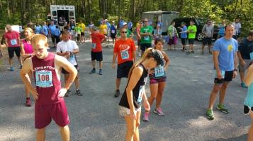 Chris and Kevin Truskey 5K, 10K, Run, Walk, Tuscarora State Park, Barnesville, 8-29-2015 (82)