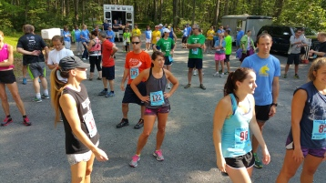 Chris and Kevin Truskey 5K, 10K, Run, Walk, Tuscarora State Park, Barnesville, 8-29-2015 (83)