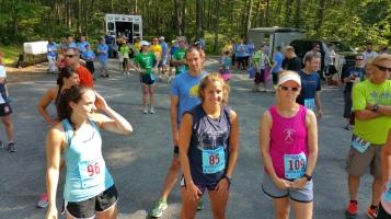 Chris and Kevin Truskey 5K, 10K, Run, Walk, Tuscarora State Park, Barnesville, 8-29-2015 (84)