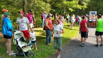 Chris and Kevin Truskey 5K, 10K, Run, Walk, Tuscarora State Park, Barnesville, 8-29-2015 (9)