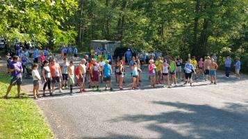 Chris and Kevin Truskey 5K, 10K, Run, Walk, Tuscarora State Park, Barnesville, 8-29-2015 (97)