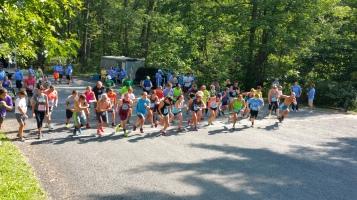 Chris and Kevin Truskey 5K, 10K, Run, Walk, Tuscarora State Park, Barnesville, 8-29-2015 (99)