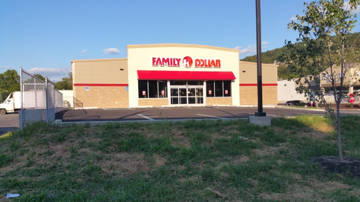 Construction Status, Family Dollar, Tamaqua, 8-28-2015 (22)