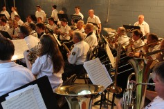 Cresona Band, and Junior Band perform, East End Playground, Tamaqua, 7-29-2015 (104)