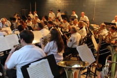 Cresona Band, and Junior Band perform, East End Playground, Tamaqua, 7-29-2015 (105)