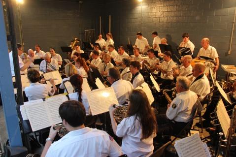 Cresona Band, and Junior Band perform, East End Playground, Tamaqua, 7-29-2015 (109)