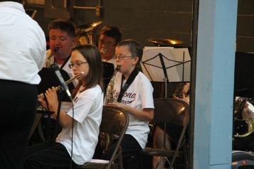 Cresona Band, and Junior Band perform, East End Playground, Tamaqua, 7-29-2015 (11)