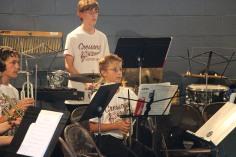 Cresona Band, and Junior Band perform, East End Playground, Tamaqua, 7-29-2015 (15)