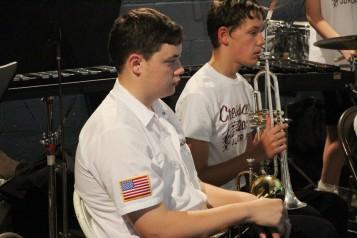 Cresona Band, and Junior Band perform, East End Playground, Tamaqua, 7-29-2015 (23)