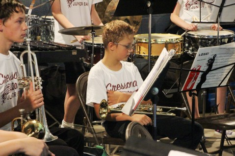 Cresona Band, and Junior Band perform, East End Playground, Tamaqua, 7-29-2015 (24)