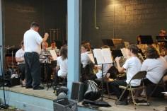 Cresona Band, and Junior Band perform, East End Playground, Tamaqua, 7-29-2015 (3)