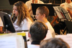 Cresona Band, and Junior Band perform, East End Playground, Tamaqua, 7-29-2015 (37)
