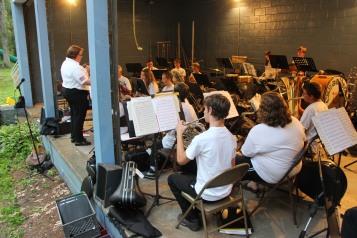 Cresona Band, and Junior Band perform, East End Playground, Tamaqua, 7-29-2015 (44)