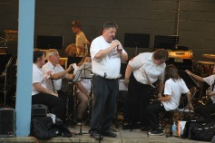 Cresona Band, and Junior Band perform, East End Playground, Tamaqua, 7-29-2015 (5)