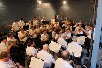 Cresona Band, and Junior Band perform, East End Playground, Tamaqua, 7-29-2015 (58)