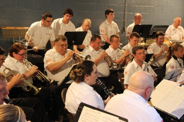 Cresona Band, and Junior Band perform, East End Playground, Tamaqua, 7-29-2015 (69)