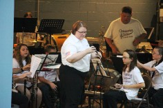 Cresona Band, and Junior Band perform, East End Playground, Tamaqua, 7-29-2015 (7)