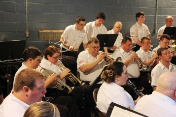 Cresona Band, and Junior Band perform, East End Playground, Tamaqua, 7-29-2015 (70)