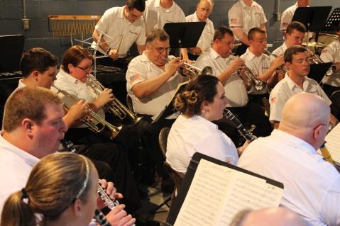 Cresona Band, and Junior Band perform, East End Playground, Tamaqua, 7-29-2015 (71)