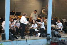 Cresona Band, and Junior Band perform, East End Playground, Tamaqua, 7-29-2015 (8)