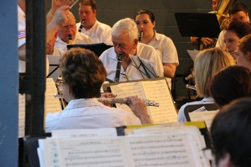 Cresona Band, and Junior Band perform, East End Playground, Tamaqua, 7-29-2015 (85)