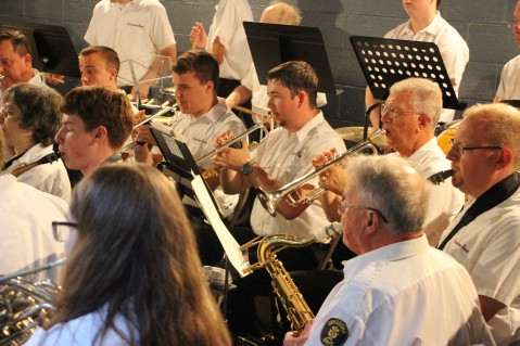 Cresona Band, and Junior Band perform, East End Playground, Tamaqua, 7-29-2015 (95)